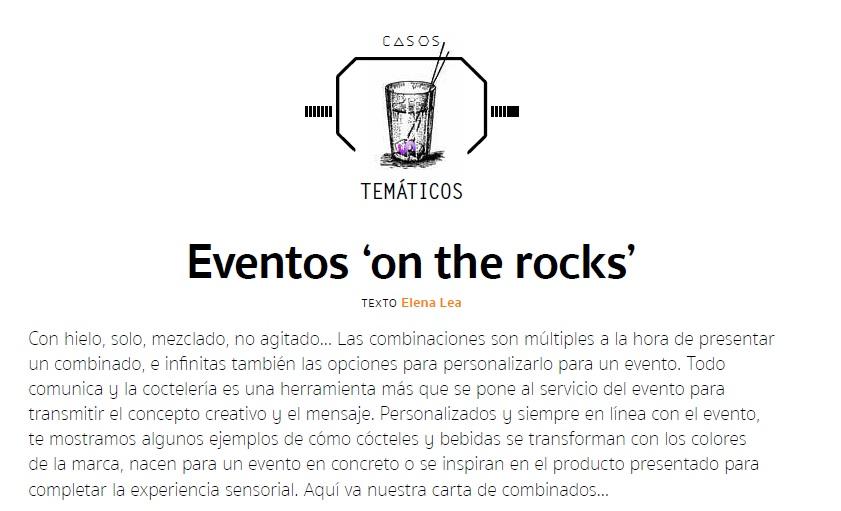 Eventos On the Rocks